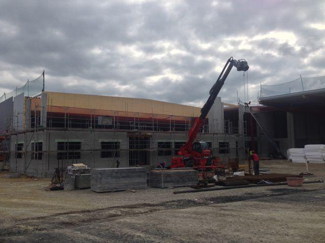 BV Dreßler Bau GmbH - Rohbauarbeiten Fristo - Logistikzentrum Zimmern