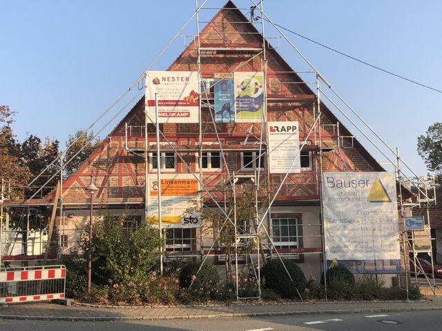 Sanierung Gemeindehaus in 78662 Bösingen-Herrenzimmern