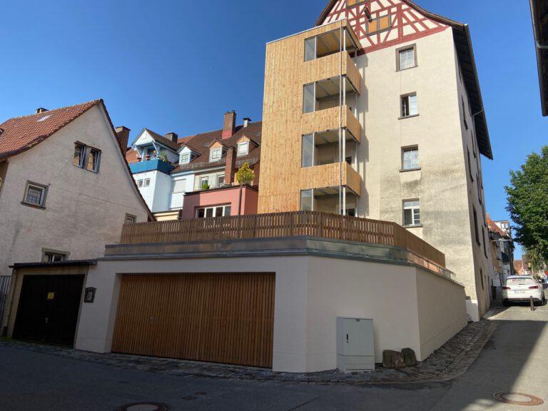 Erweiterung Wohn- u. Geschäftshaus