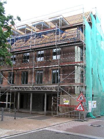 Umbau Wohn – und Geschäftshaus in St.Georgen